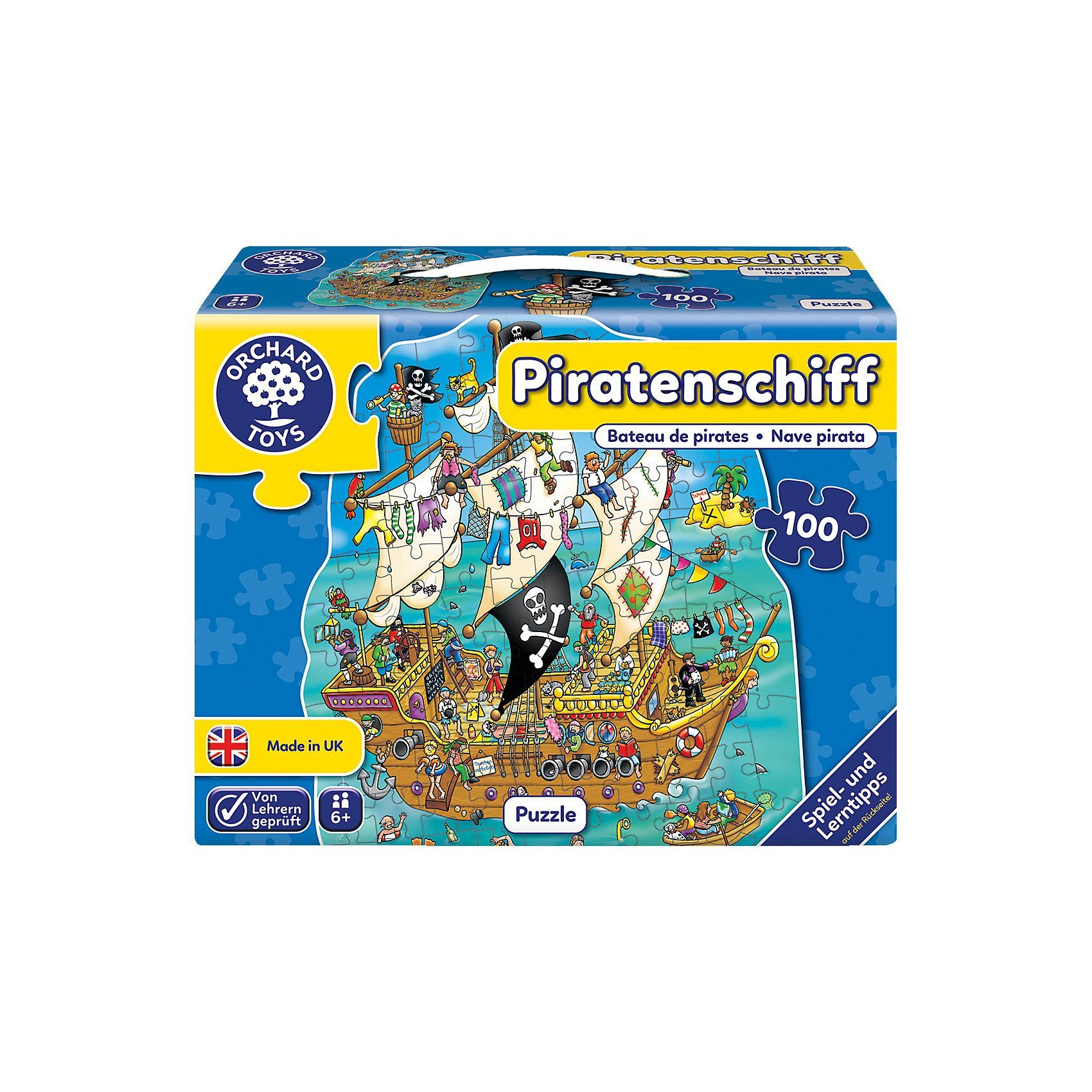 Bodenpuzzle - Piratenschiff