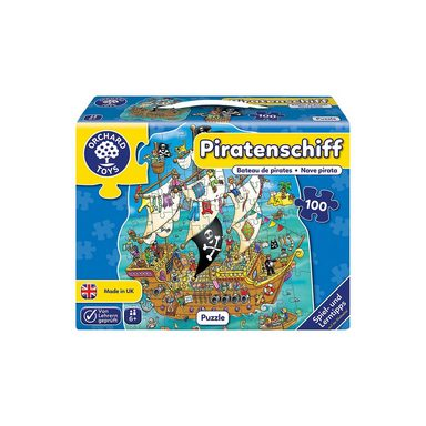 Bodenpuzzle - Piratenschiff