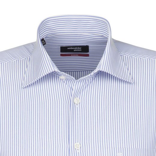 Seidensticker Shirt Business Modern, Kent-collar