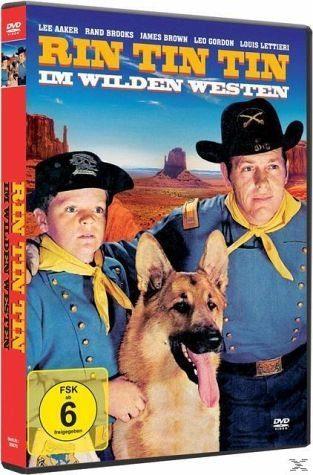 DVD »Rin-Tin-Tin Im Wilden Westen«