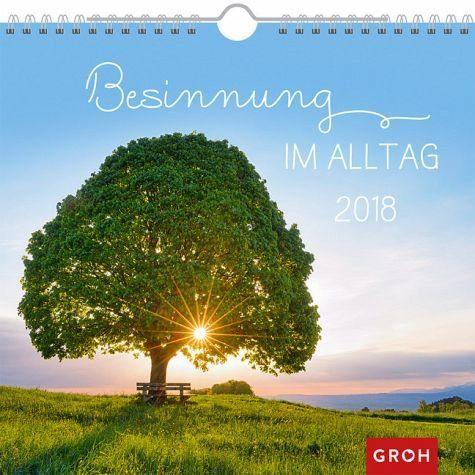 Kalender »Besinnung im Alltag 2018«