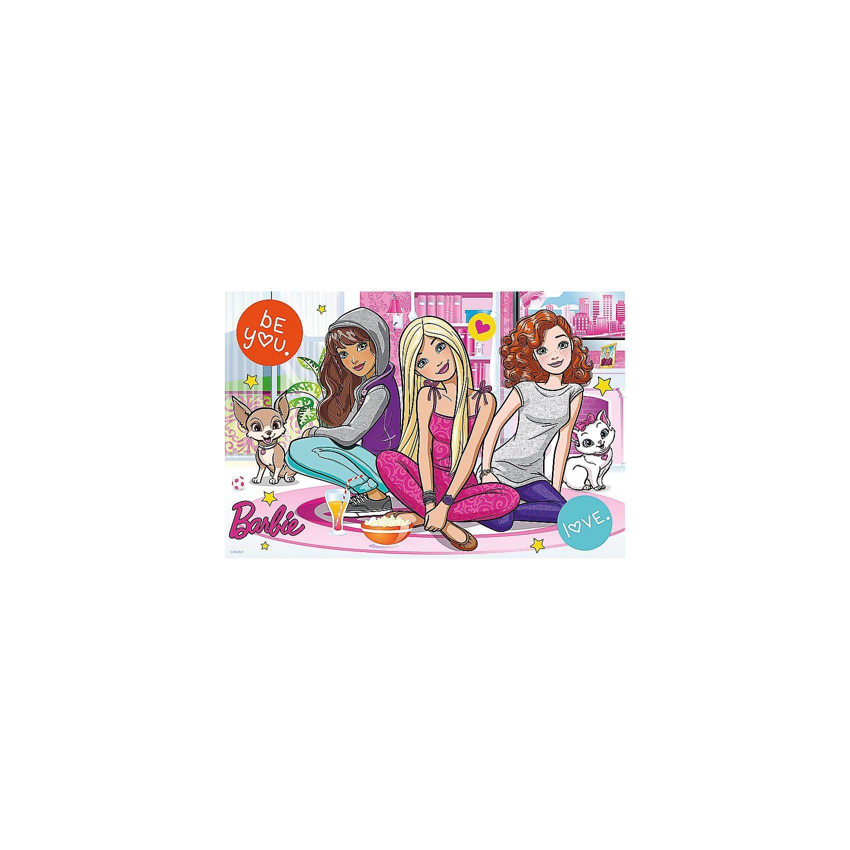 Trefl Puzzle 60 Teile - Barbie