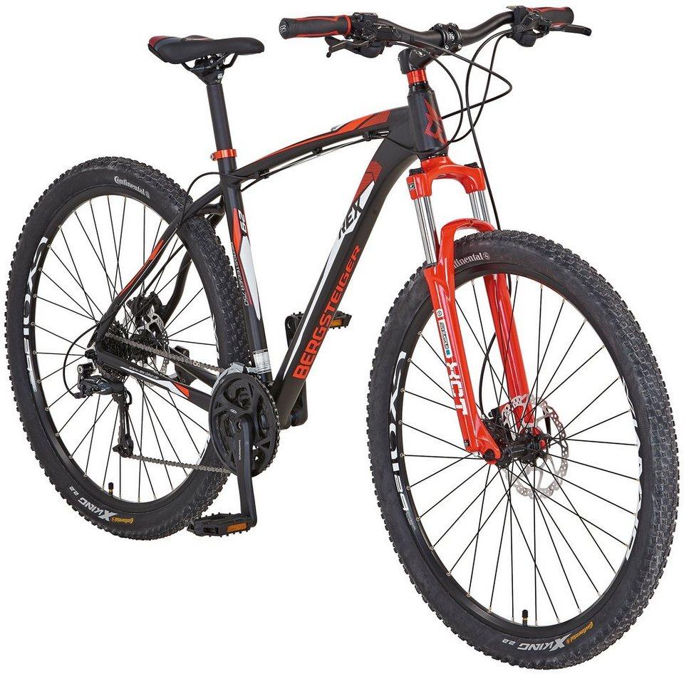rex mountainbike bergsteiger 750 29 zoll 21 gang. Black Bedroom Furniture Sets. Home Design Ideas