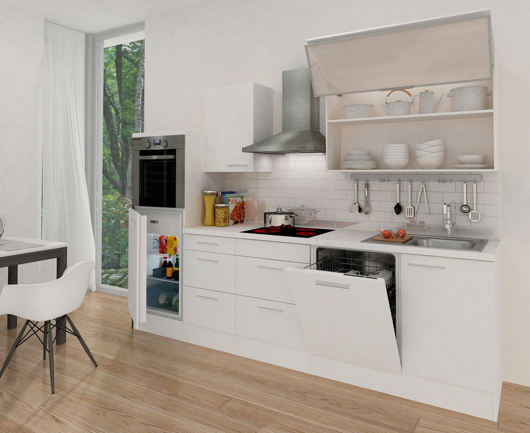 Respekta küchenzeile mit e geräten premium breite cm« online