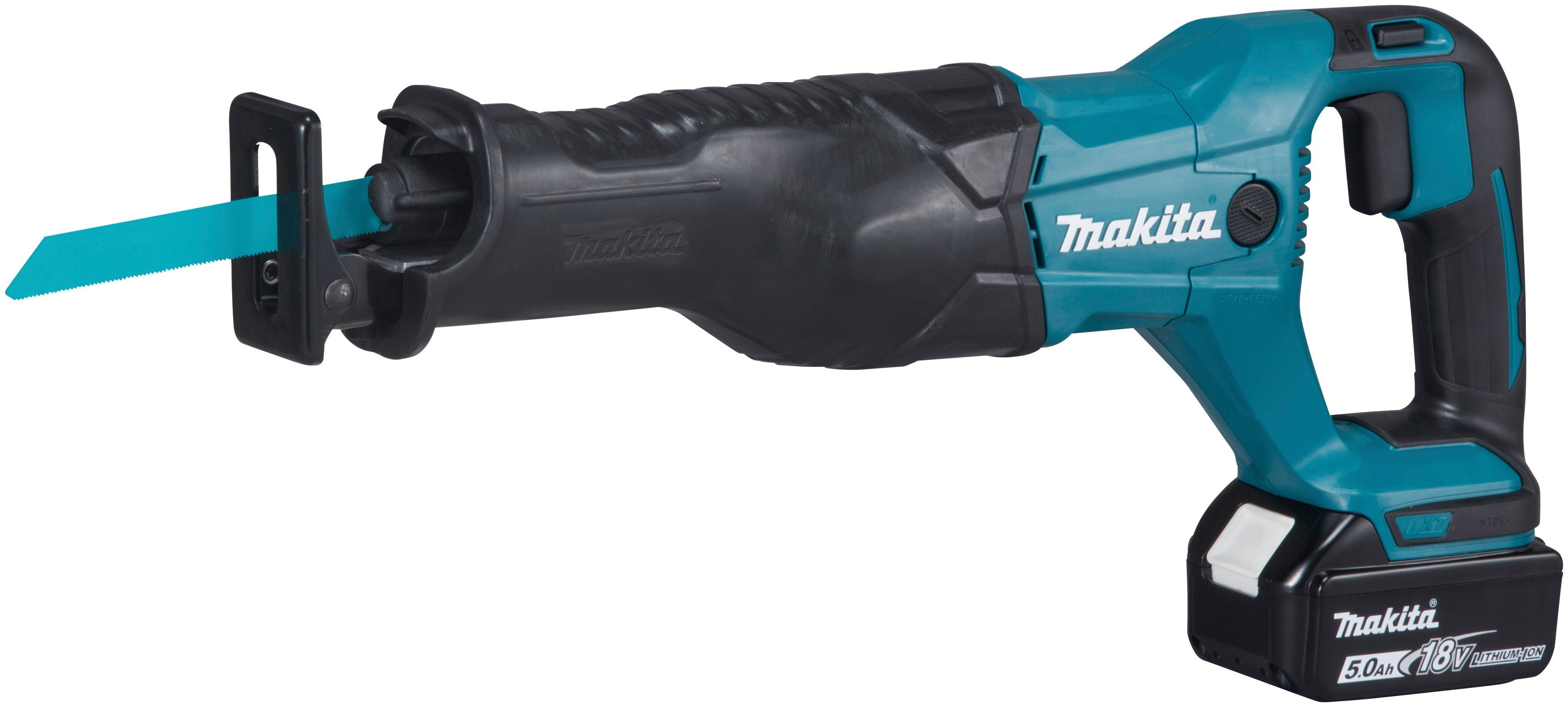 MAKITA Reciprosäge »DJR186RT«, 18,0 V / 5,0 Ah