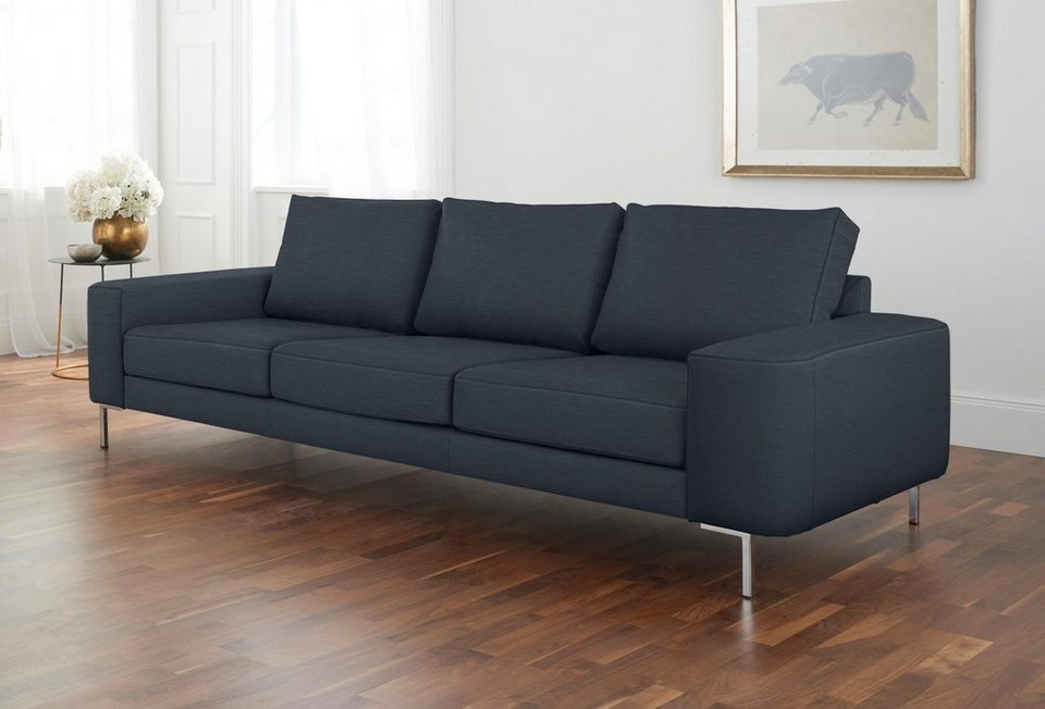 alte gerberei 3 sitzer sofa lexgaard mit gro er bodenfreiheit inklusive r ckenkissen online. Black Bedroom Furniture Sets. Home Design Ideas