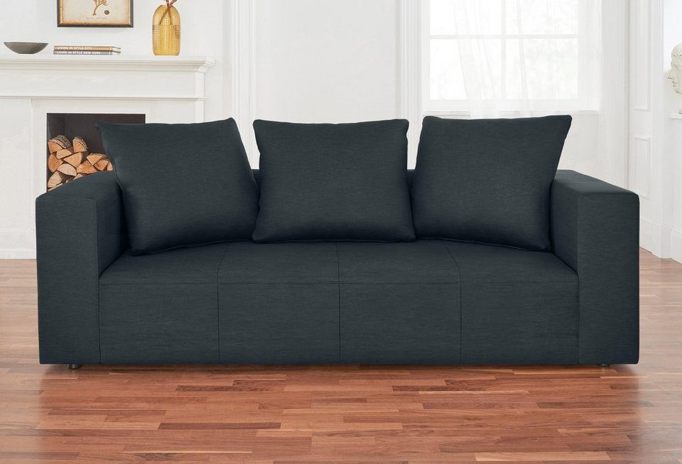 alte gerberei 2 sitzer sofa konstantin inklusive r ckenkissen online kaufen otto. Black Bedroom Furniture Sets. Home Design Ideas