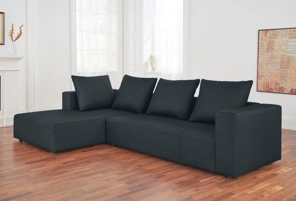 alte gerberei polsterecke mit recamiere konstantin inklusive r ckenkissen online kaufen otto. Black Bedroom Furniture Sets. Home Design Ideas