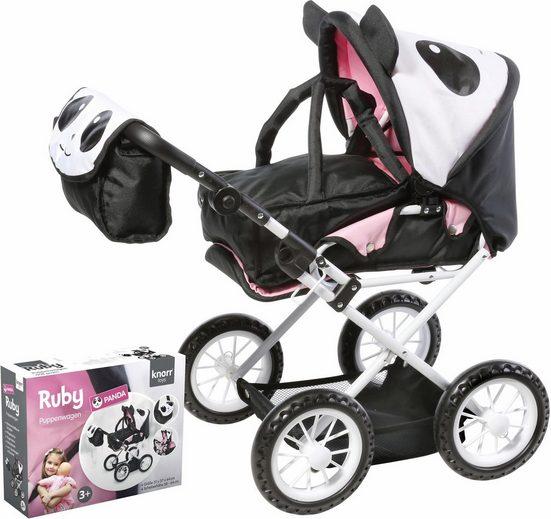 Knorrtoys® Kombi-Puppenwagen »Ruby Panda«