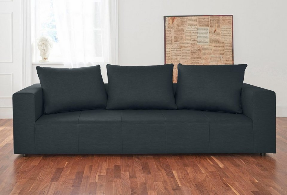 alte gerberei 3 sitzer sofa konstantin inklusive r ckenkissen online kaufen otto. Black Bedroom Furniture Sets. Home Design Ideas