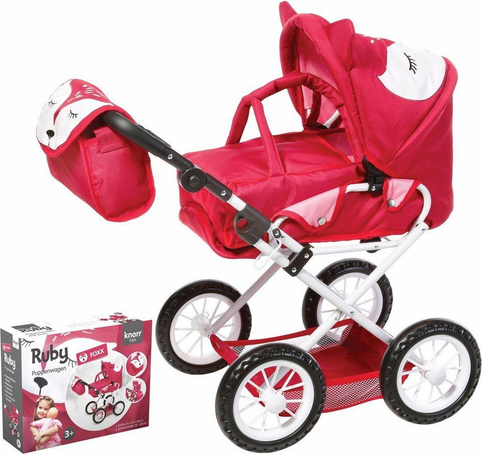 Knorr toys Puppenkombiwagen,  Ruby Foxx  kaufen