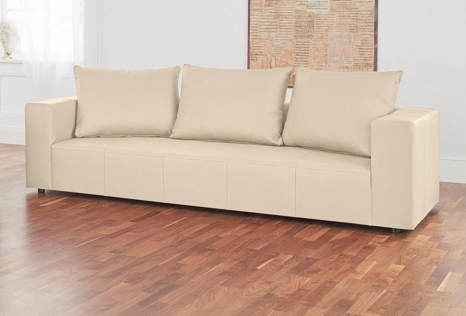 Alte Gerberei 3-Sitzer Sofa »Konstantin«, inklusive Rückenkissen ...