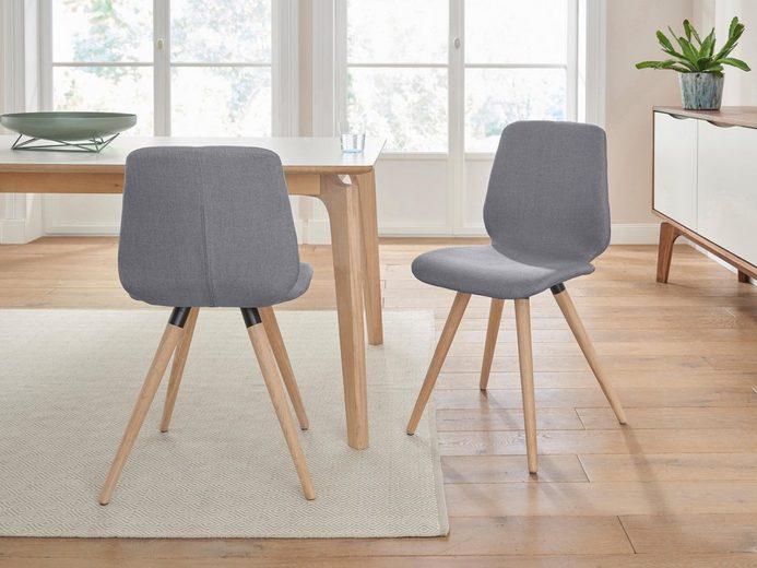 PBJ Designhouse Stühle, 2er-Set »stick cut« in walnut oder white oak