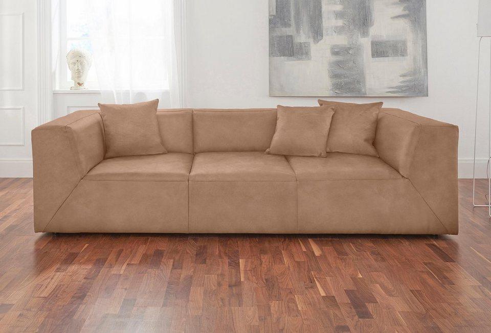 Bevorzugt Alte Gerberei 3-Sitzer »Luis«, inklusive Zierkissen online kaufen JU34