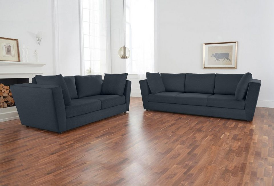 alte gerberei 2 sitzer sofa pristin inklusive armlehnkissen online kaufen otto. Black Bedroom Furniture Sets. Home Design Ideas