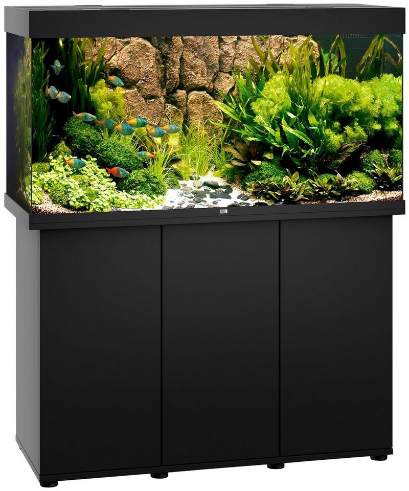 juwel aquarien aquarien set rio 350 led b t h 121 51. Black Bedroom Furniture Sets. Home Design Ideas