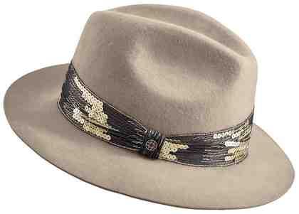 Loevenich Hut mit Pailetten