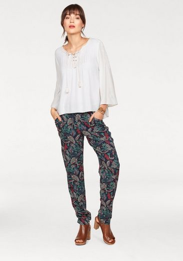 Tom Tailor Denim Stoffhose, mit Allover-Print