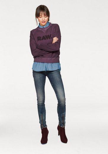 G-Star RAW Sweatshirt Daefera, mit Logo Frontdruck