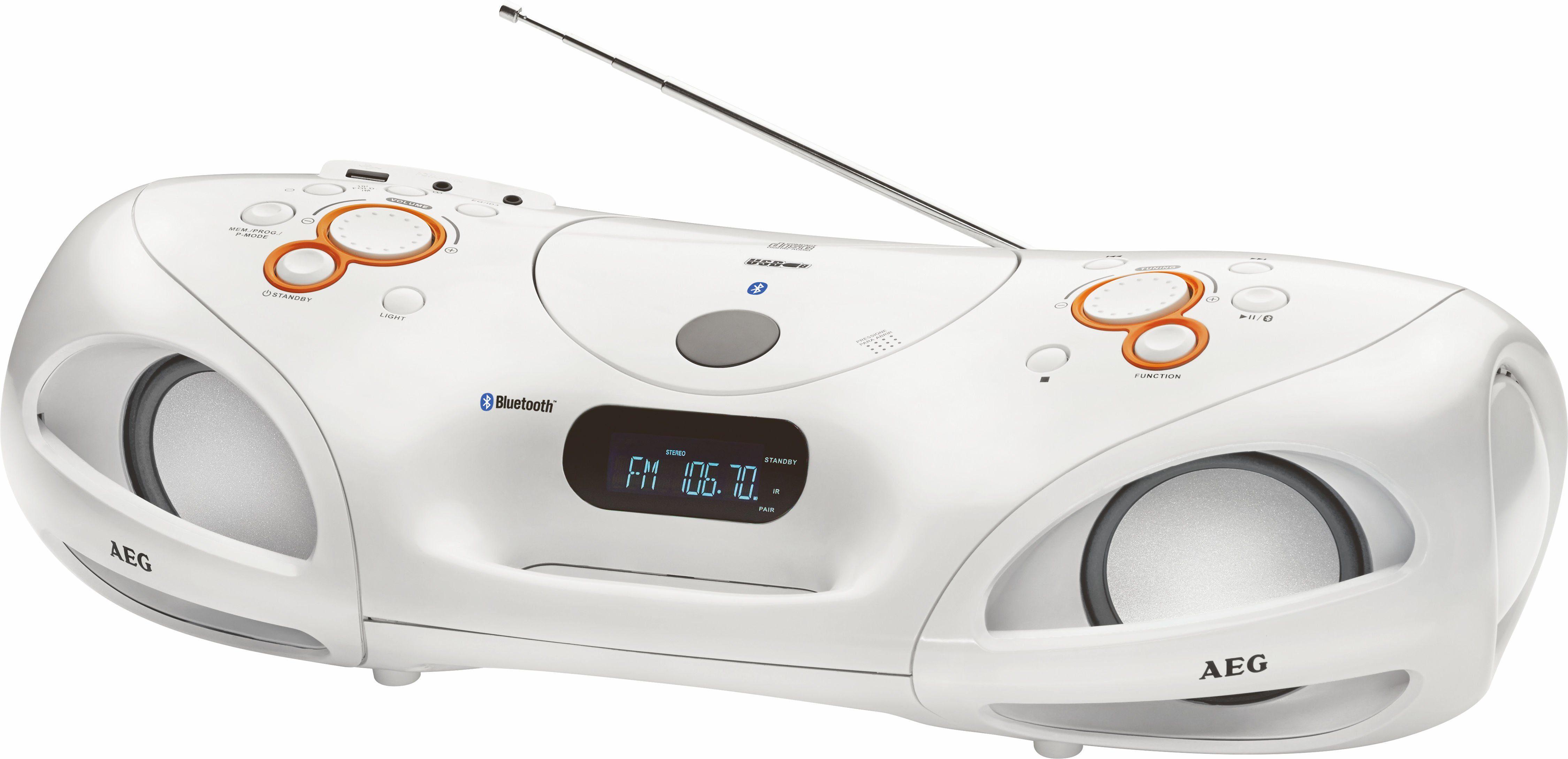 AEG Soundbox mit Radio, Bluetooth & CD/MP3-Player »SR 4371 BT«