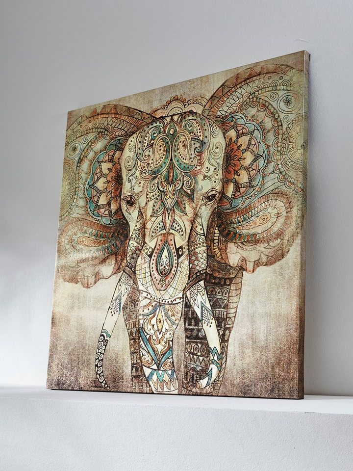 heine home bild elefant online kaufen otto. Black Bedroom Furniture Sets. Home Design Ideas