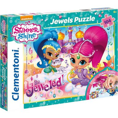 Clementoni® Jewels Puzzle 104 Teile - Shimmer and Shine
