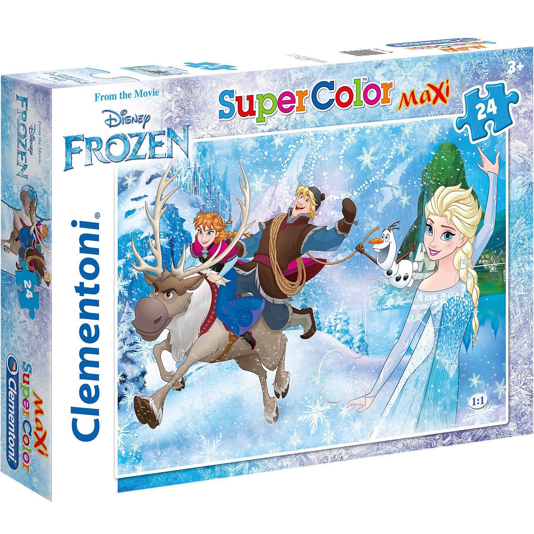Clementoni Maxipuzzle 24 Teile - Die Eiskönigin