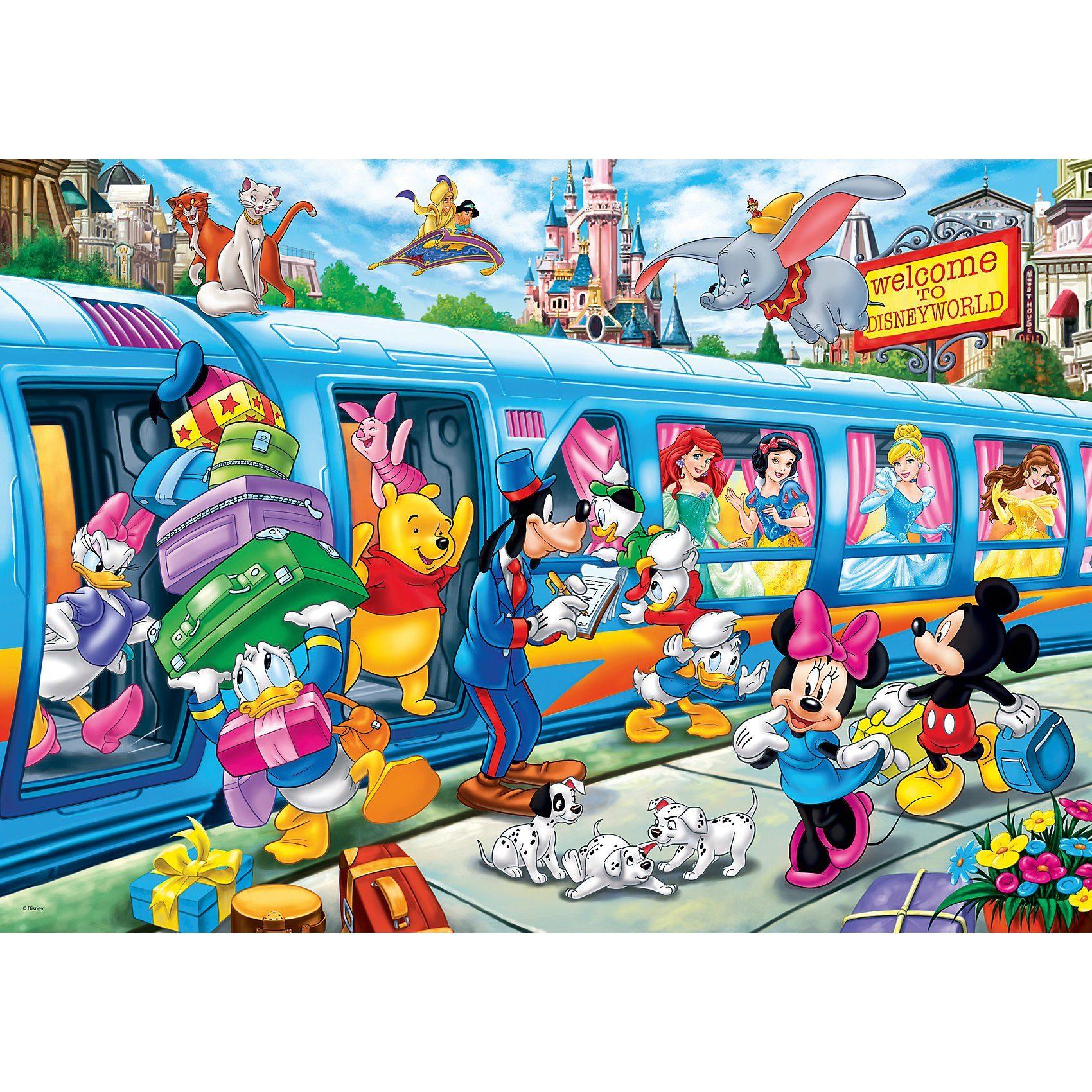 Clementoni® Maxipuzzle 24 Teile - Disney Train