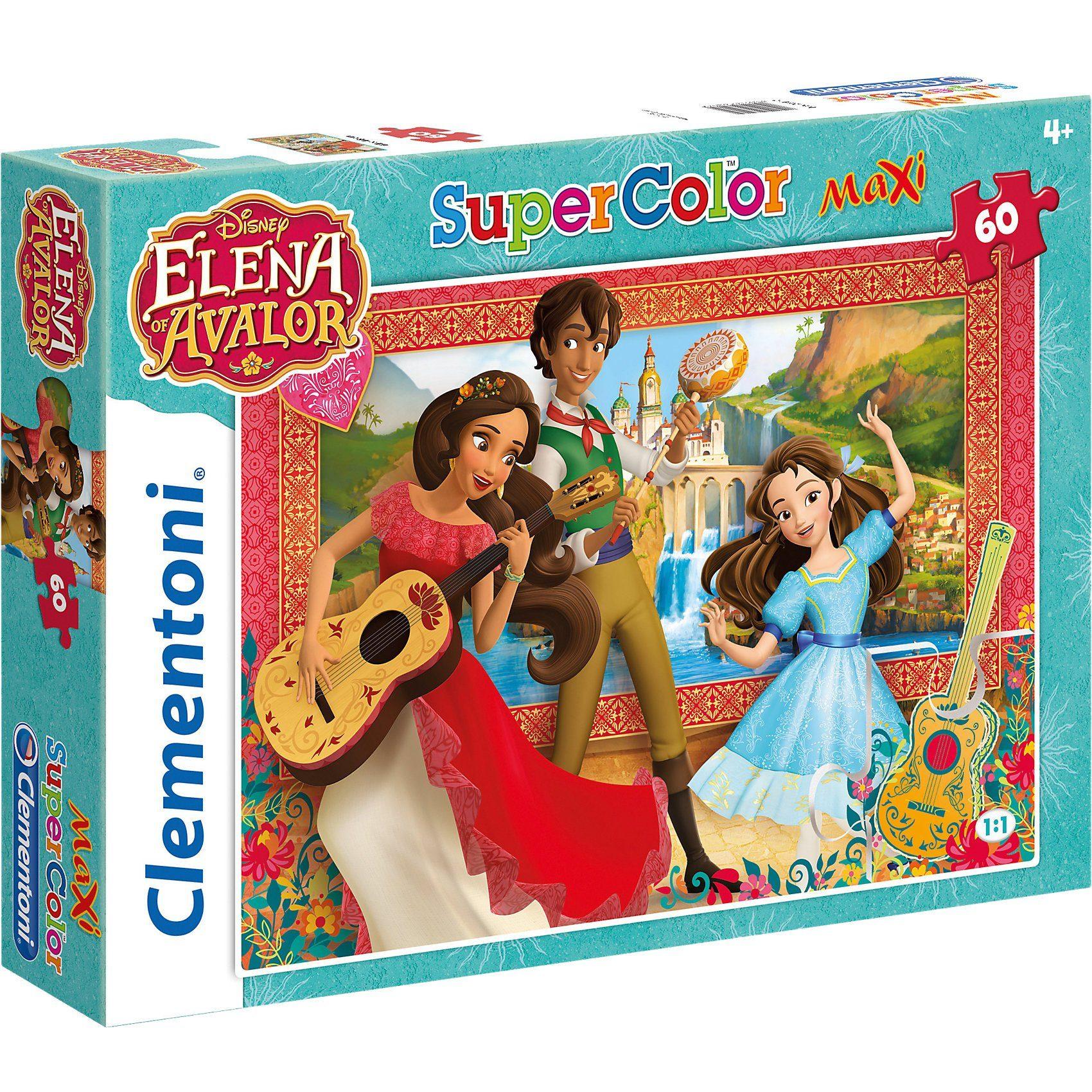 Clementoni Maxipuzzle 60 Teile - Elena von Avalor