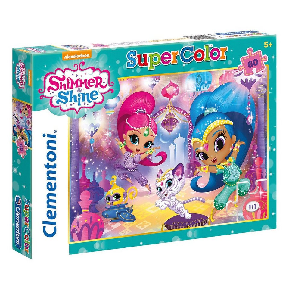 Clementoni® Puzzle 60 Teile - Shimmer and Shine