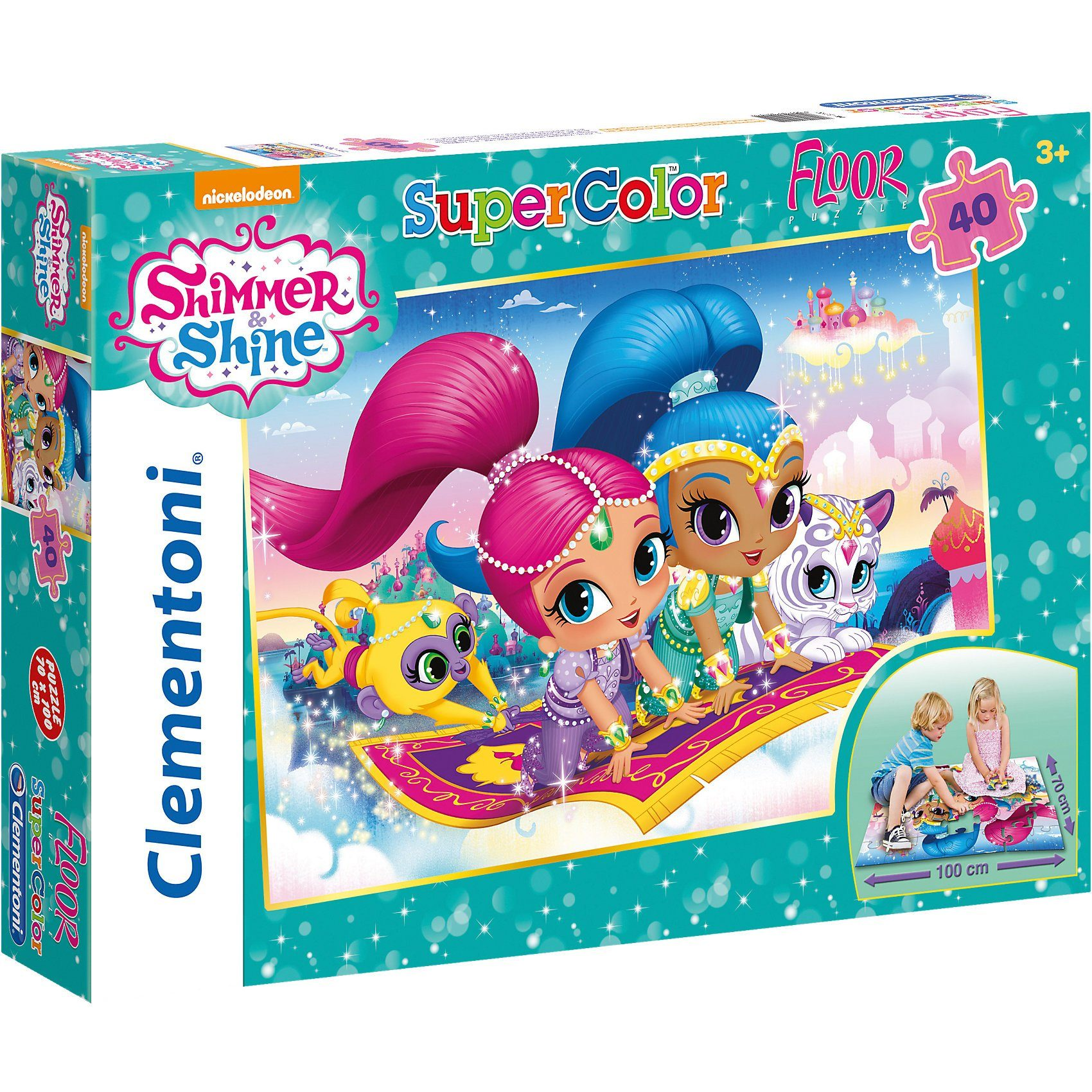 Clementoni Bodenpuzzle 40 Teile - Shimmer and Shine