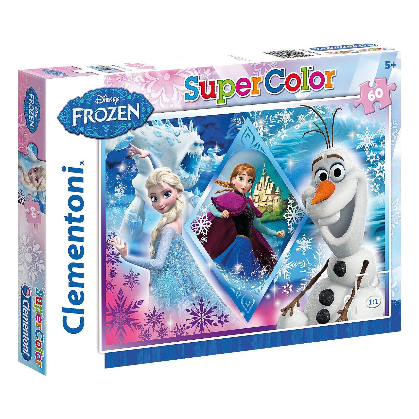 Clementoni Puzzle 60 Teile - Die Eiskönigin