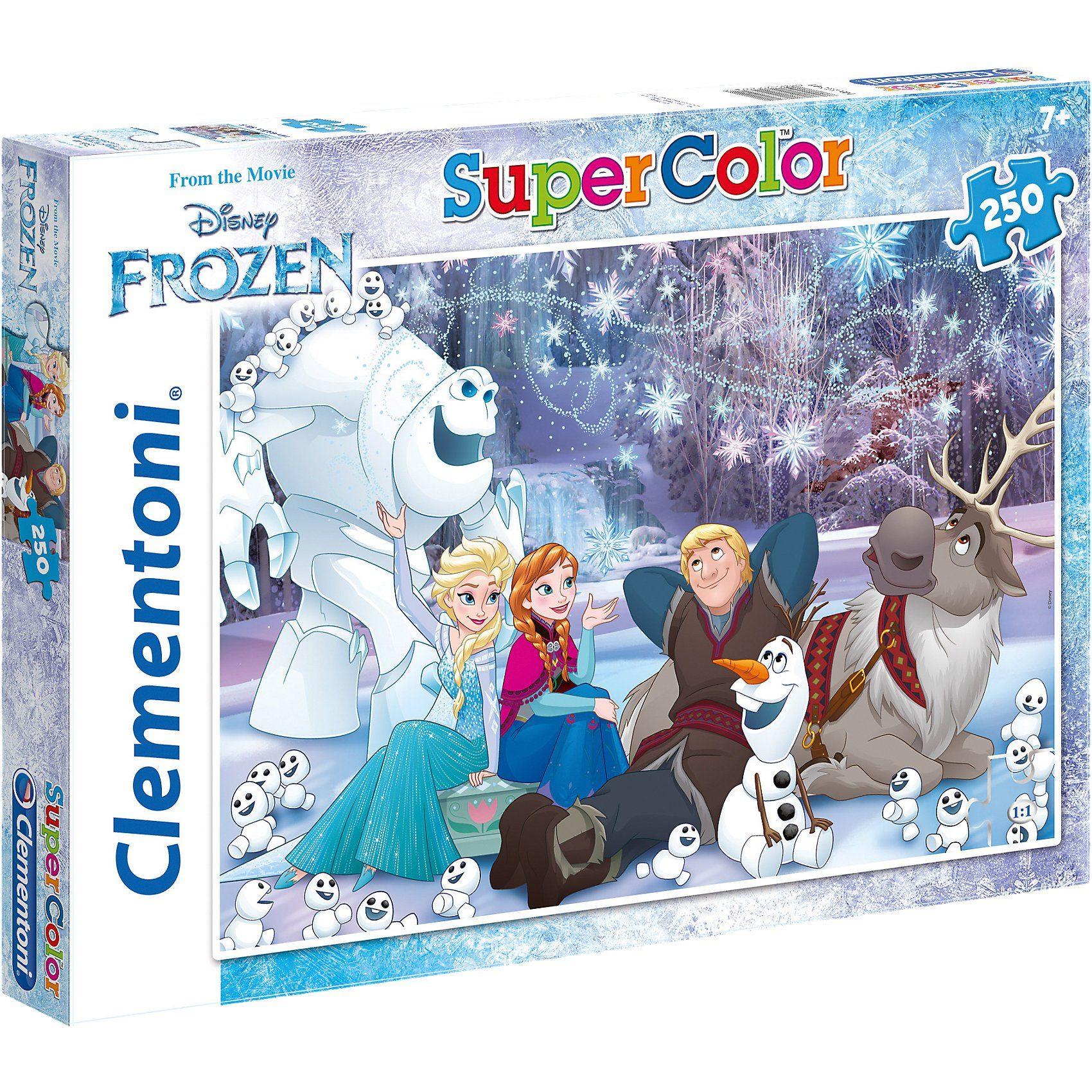 Clementoni® Puzzle 250 Teile - Die Eiskönigin