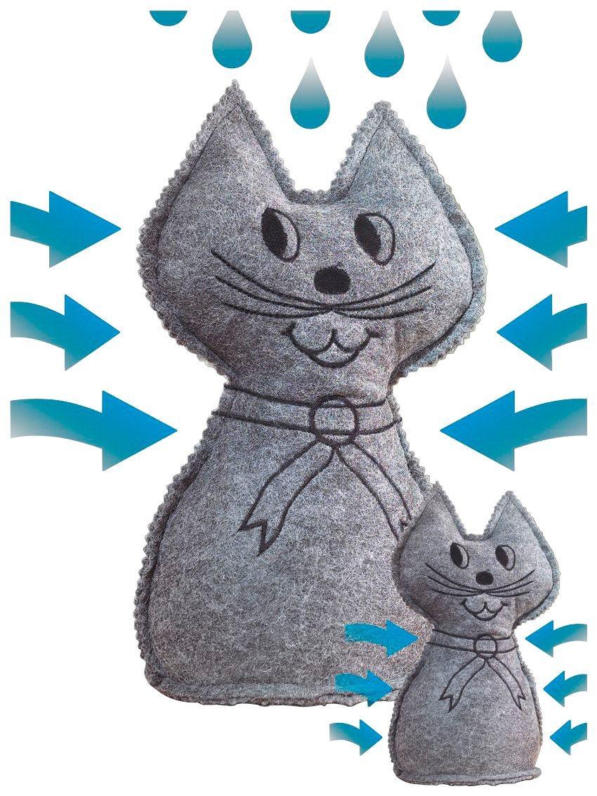 WENKO Luftentfeuchter »Katze«, 2er Set | Baumarkt > Heizung und Klima > Klimageräte | WENKO