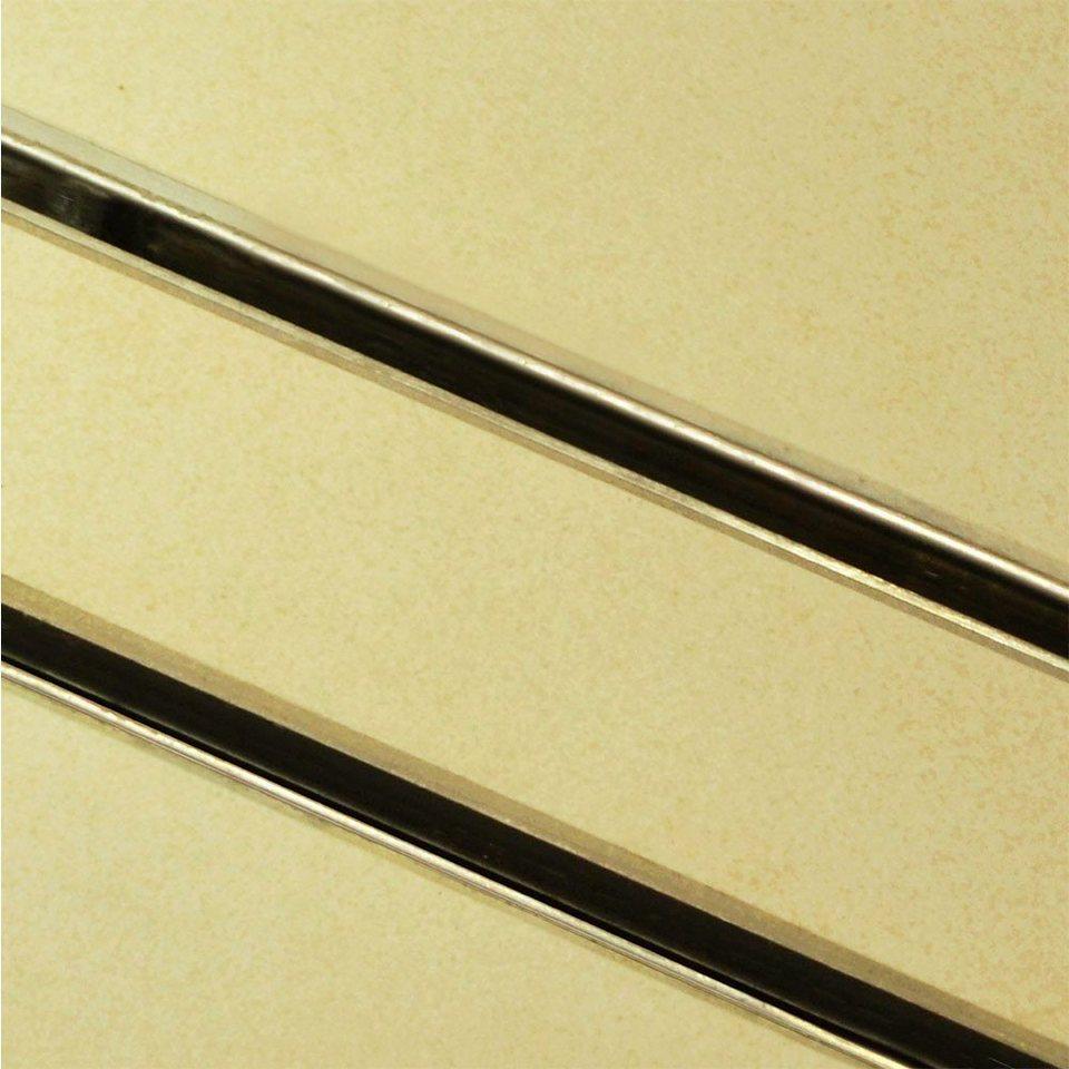 Home deluxe duschrinne duschablauf befliesbar mit 140 cm for Schlafsofa breite 140 cm