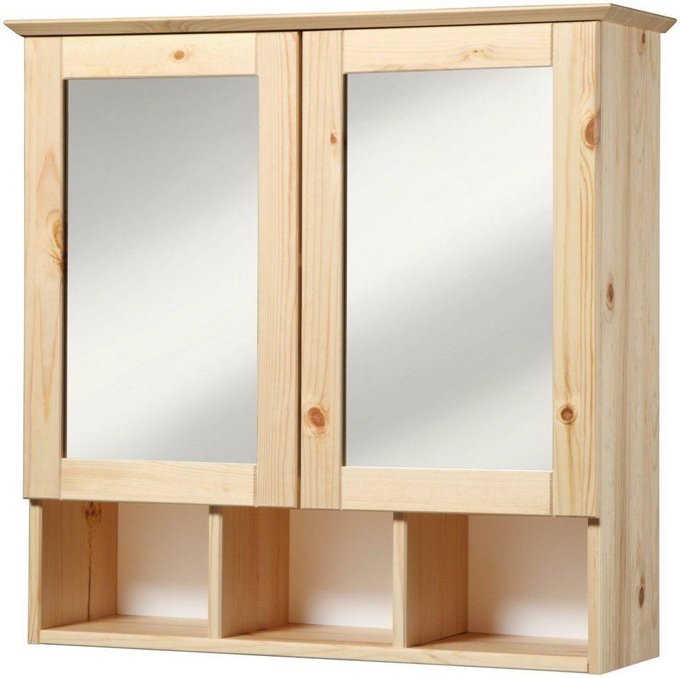 spiegelschrank landhaus r gen breite 60 cm otto. Black Bedroom Furniture Sets. Home Design Ideas