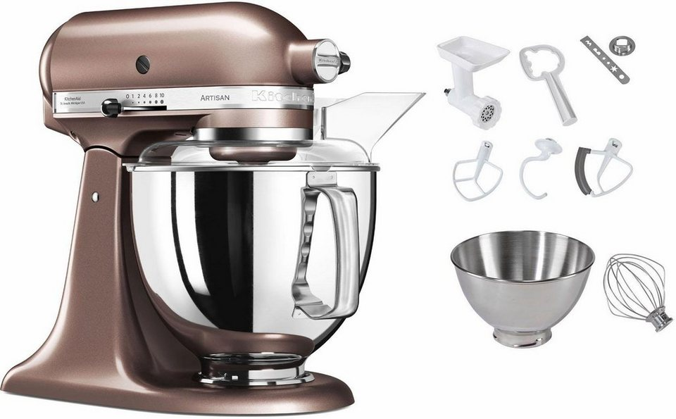 kitchenaid k chenmaschine 5ksm175pseap 300 w 4 83 l sch ssel inkl sonderzubeh r im wert von. Black Bedroom Furniture Sets. Home Design Ideas