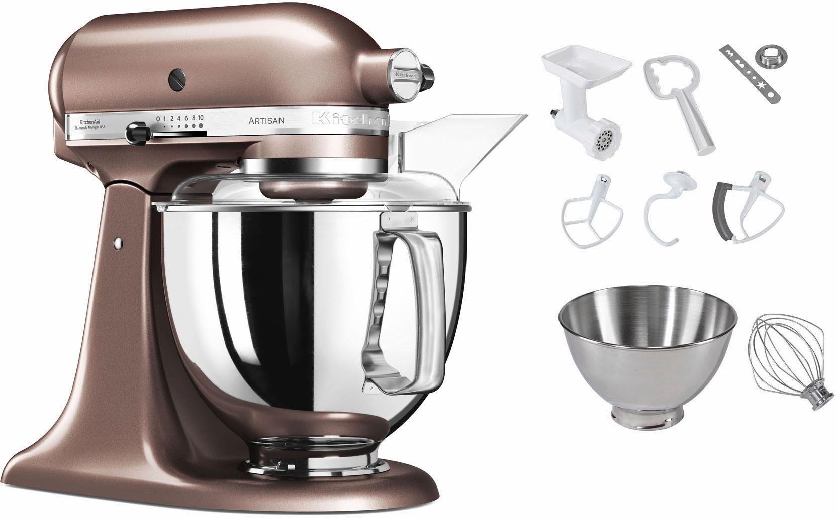 KitchenAid Küchenmaschine 5KSM175PSEAP, 300 W, 4,83 l Schüssel