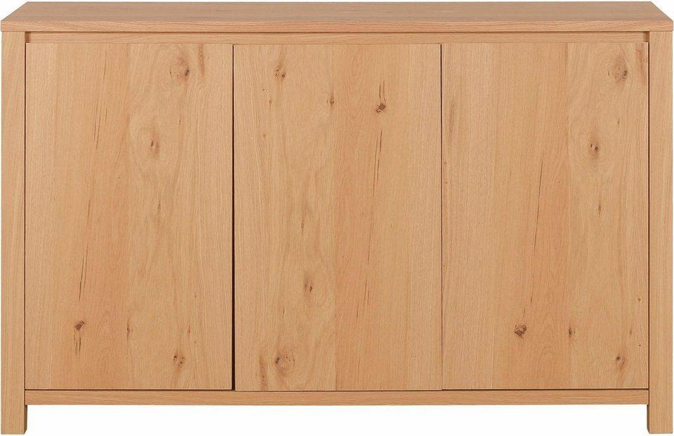 home affaire sideboard breite 140 cm 3 t ren online. Black Bedroom Furniture Sets. Home Design Ideas