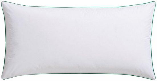3-Kammer-Kopfkissen, »Fee«, fjödur, Füllung: Außenkammer mit 90% Daunen, 10% Federn, Bezug: 100% Baumwolle, (1-tlg), Stützend und kuschelig