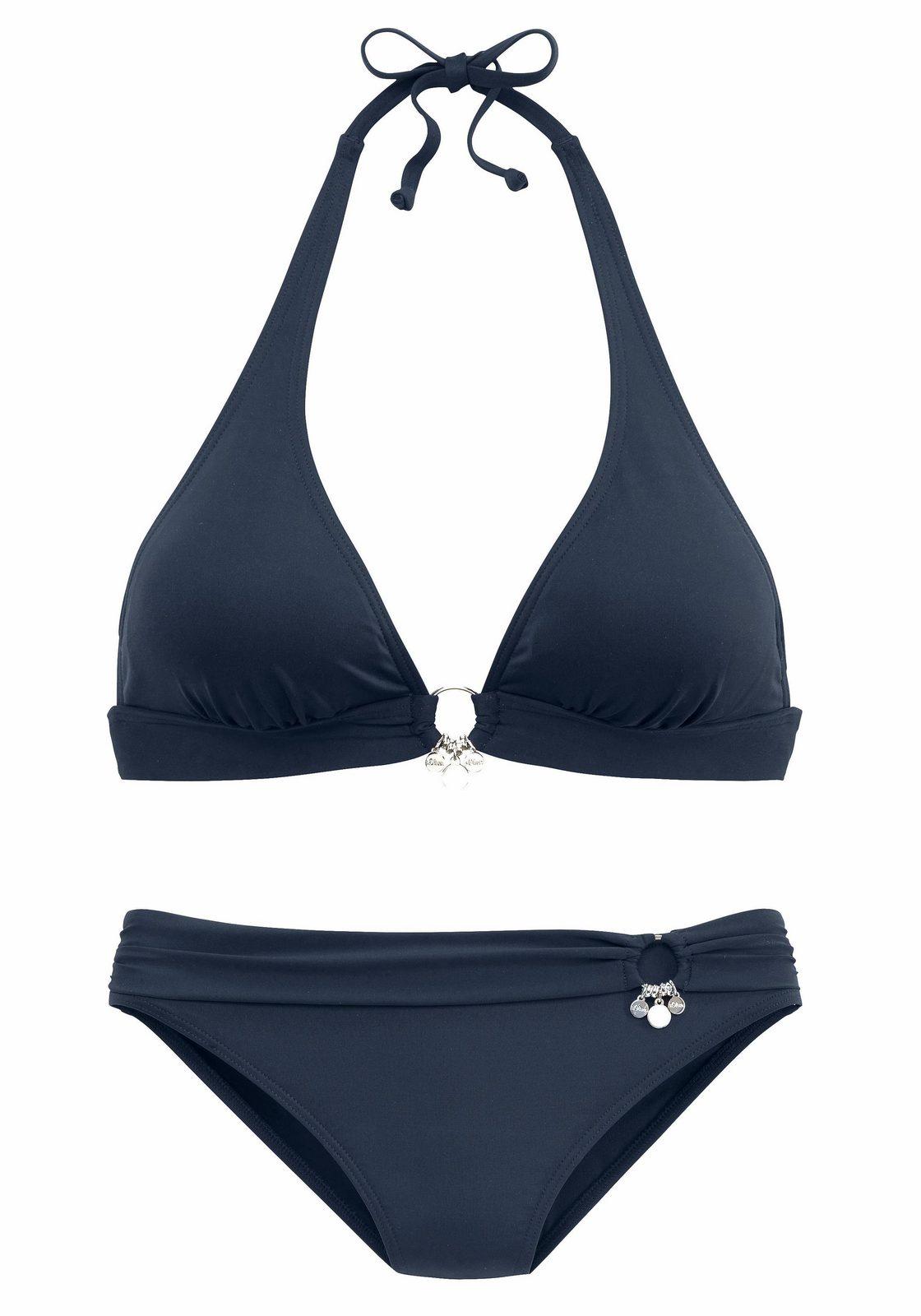 s.Oliver RED LABEL Beachwear Triangel-Bikini mit Accessoires jetztbilligerkaufen