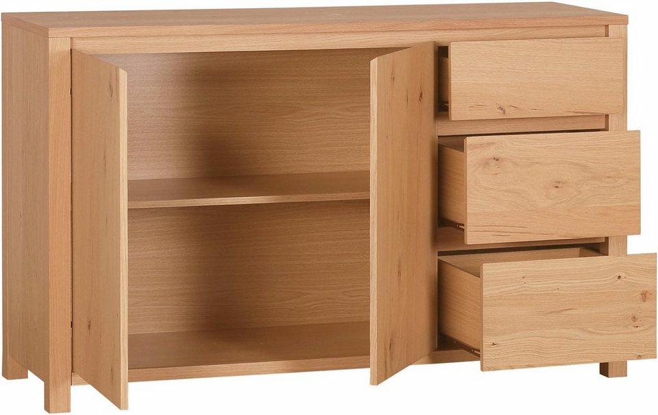 home affaire sideboard breite 140 cm 2 t ren online. Black Bedroom Furniture Sets. Home Design Ideas