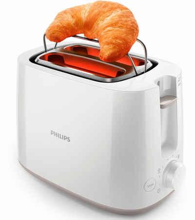 Philips Toaster HD2581/00, 2 kurze Schlitze, 830 W