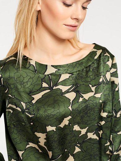 RUBINA STONES Druckbluse mit Floral Print