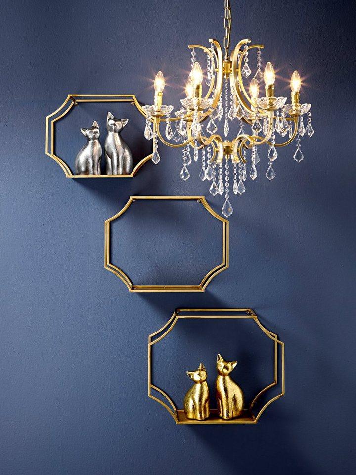 heine home wandregal 3er set online kaufen otto. Black Bedroom Furniture Sets. Home Design Ideas