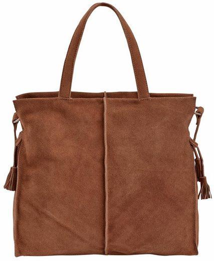 Heine Tasche mit seitlichen Quasten