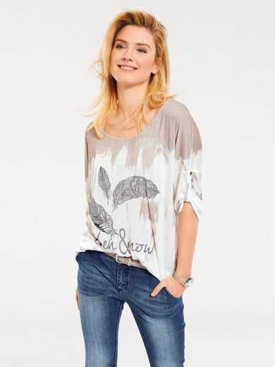 B.C. BEST CONNECTIONS by Heine Druckshirt Oversized