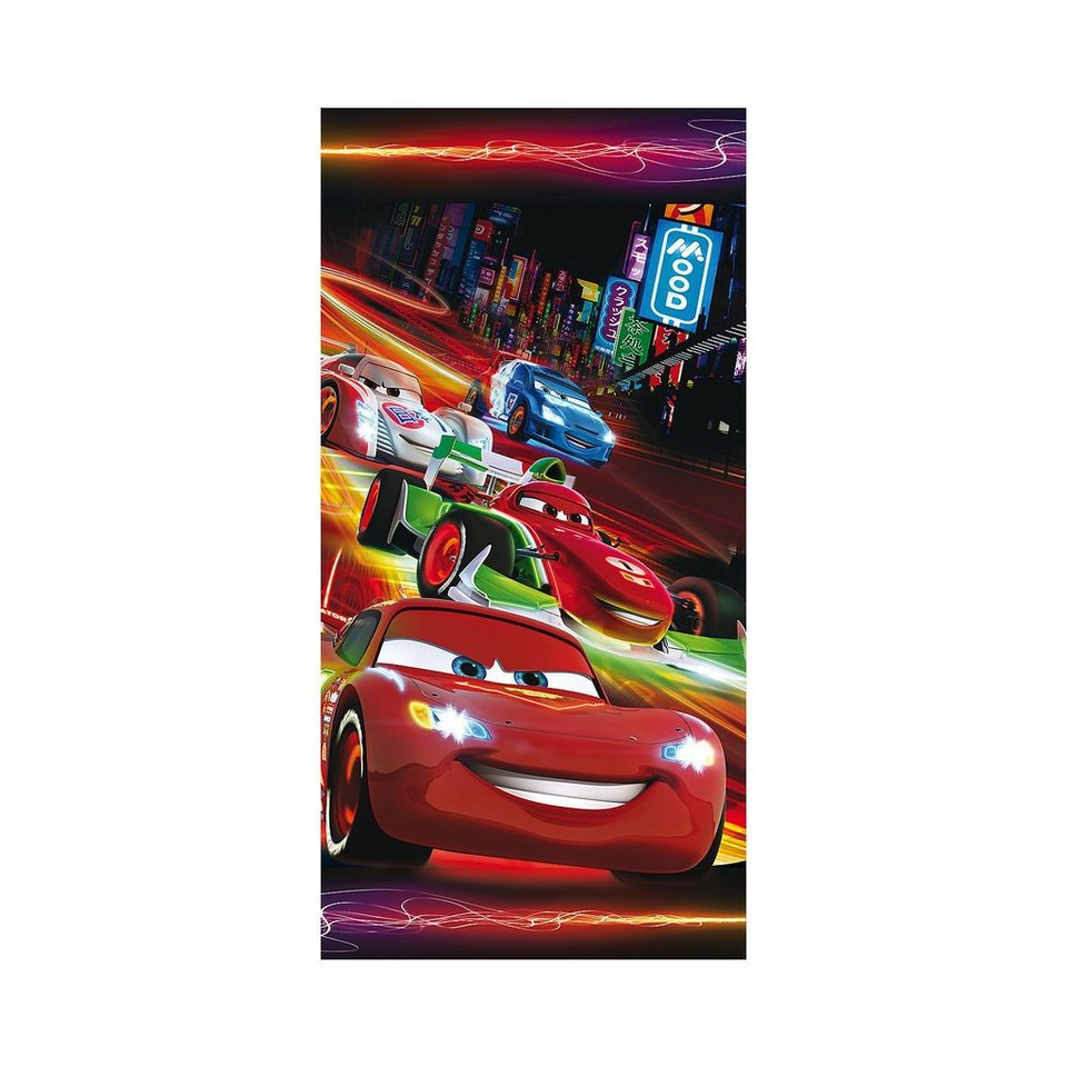 strand badetuch disney cars 75 x 150 cm otto. Black Bedroom Furniture Sets. Home Design Ideas