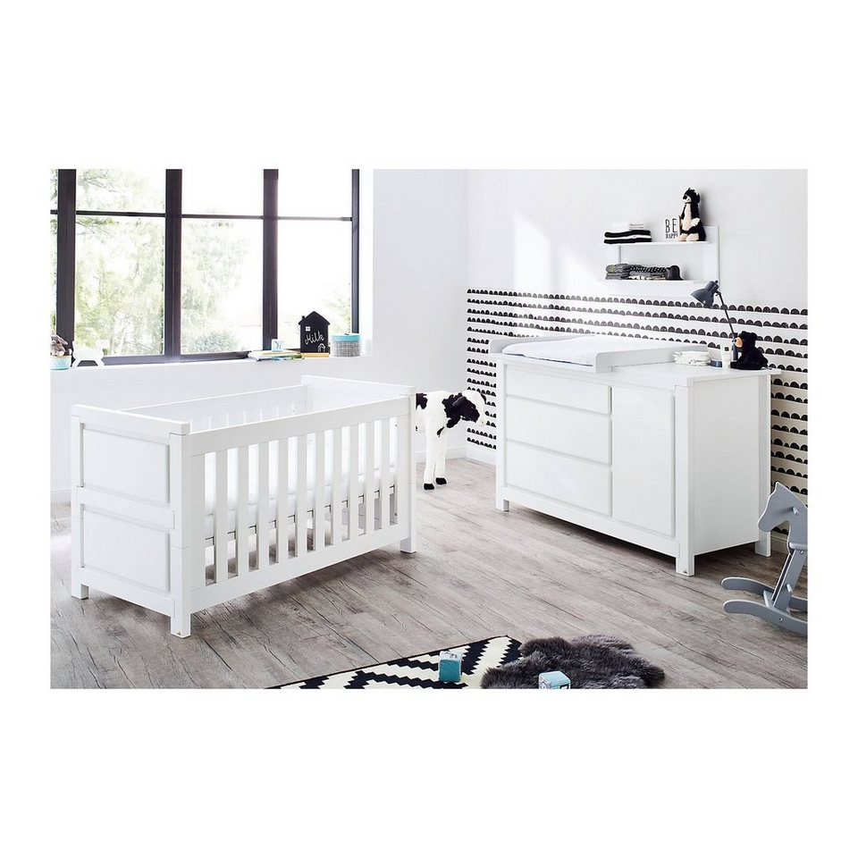 pinolino sparset milk 2 tlg kinderbett und extrabreiter. Black Bedroom Furniture Sets. Home Design Ideas