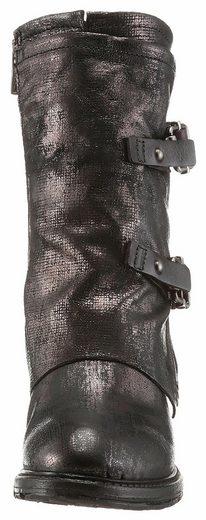 A.S.98 Stiefel, mit verstellbarem Draht im Schaftrand
